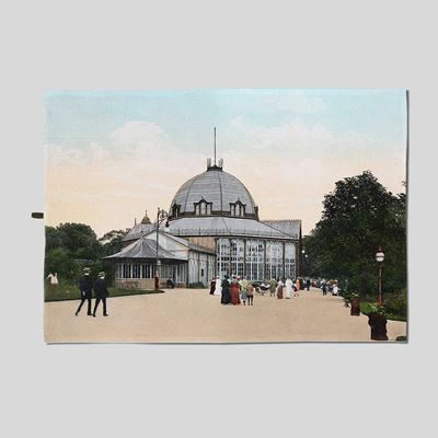 The Octagon - Buxton Gardens Tea Towel