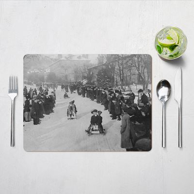 Winter Fun in the Peak District – Placemats (set of 4)