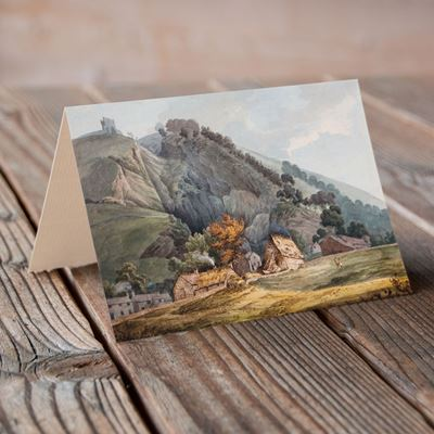 Entrance to Peak Cavern, Castleton – Greeting Card