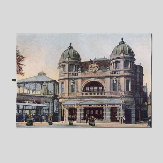Buxton Opera House tea towel