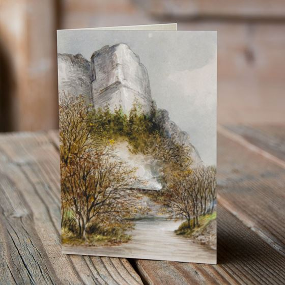 Matlock High Tor Greeting Card