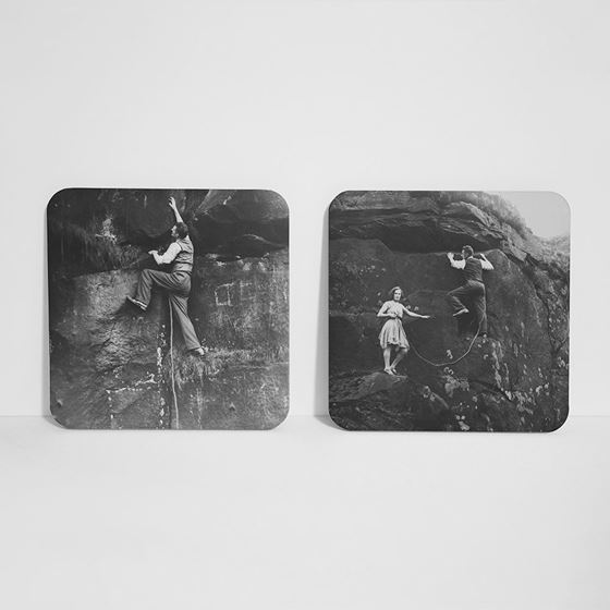 Climbing in the Peak District – Coasters (set of 4)