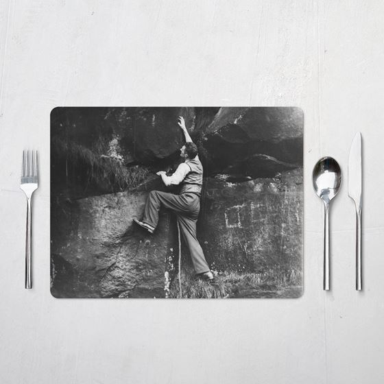 Climbing in the Peak District – Placemats (set of 4)