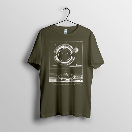 Arbor Low - Men`s Green T-shirt - Small