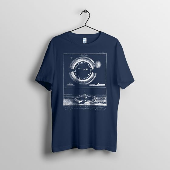 Arbor Low - Men`s Navy T-shirt - Small