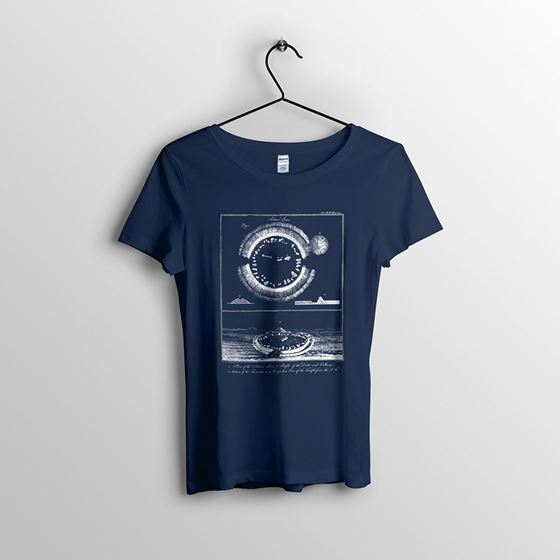 Arbor Low - Women`s Navy T-shirt - Small