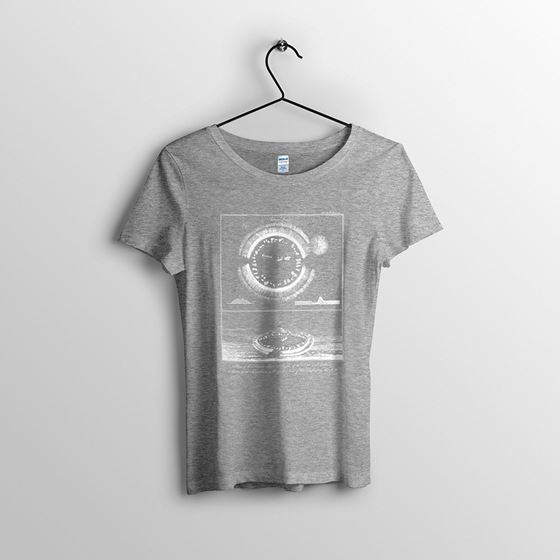 Arbor Low - Women`s Heather Grey T-shirt - Small
